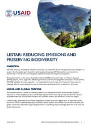 LESTARI: Reducing Emissions and Preserving Biodiversity