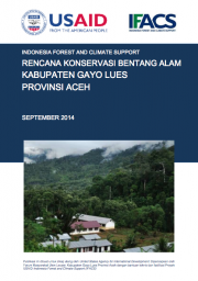 Landscape Conservation Plan: Gayo Lues – Aceh (Only Available in Bahasa Indonesia)