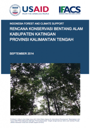 Landscape Conservation Plan: Katingan – Central Kalimantan (Only Available in Bahasa Indonesia)