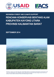Landscape Conservation Plan: Kayong Utara – Central Kalimantan (Only Available in Bahasa Indonesia)