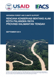 Landscape Conservation Plan: Palangkaraya – Central Kalimantan (Only Available in Bahasa Indonesia)