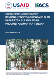 Landscape Conservation Plan: Pulang Pisau – Central Kalimantan (Only Available in Bahasa Indonesia)