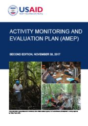 USAID LESTARI Activity Monitoring and Evaluation Plan (AMEP)