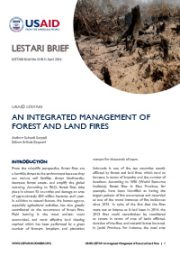 LESTARI Brief 01: An Integrated Management of Forest and Land Fires