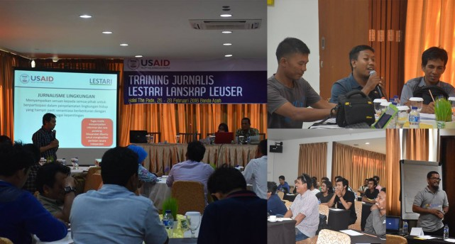 Journalist Training in Leuser Landscape