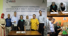 USAID  LESTARI Signed Partnership Agreement With Javara Indigeneous Indonesia To Develop Organic Cacao In Aceh Landscape