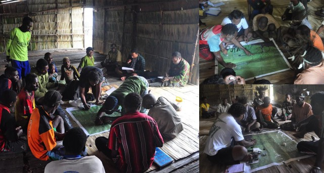 Participatory Mapping with the Indigenous Peoples in Lorentz National Park
