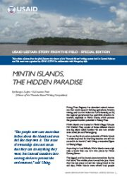 Story from the Field Special Edition – Mintin Island, The Hidden Paradise
