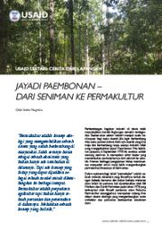 Story from the Field – Jayadi Paembonan, from Art to Permaculture