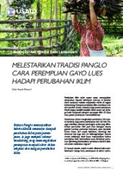 Story from the Field – Preserving Panglo Tradition (Only Available in Indonesian)