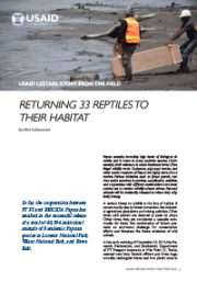 Stories from the Field – Returning 33 Reptile Back to Their Habitats