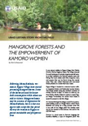 Story from the Field – Mangrove Forests and the Empowerment of Kamoro Women