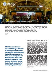 Story from the Field – FPIC: Uniting Local Voices for Peatland Restoration