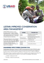 LESTARI: Improved Conservation Area Management