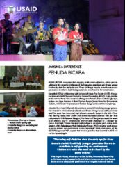 Making A Difference – Pemuda Bicara
