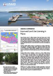 Making A Difference – Improved Land Use Licensing in Papua