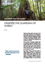 Story from the Field – Masimpei, The Guardian of Forest
