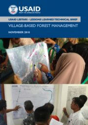 Lessons Learned Technical Brief: Village Based Forests Management