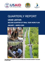 USAID LESTARI Quarterly Report: Second Quarter of Year 5 Work Plan (January – March 2020)