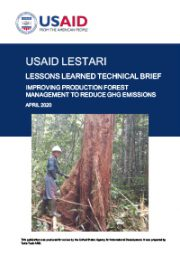 Lessons Learned Technical Brief: Improving Production Forest Management to Reduce GHG Emissions